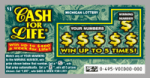 $1 Cash For Life Ticket (Game #495)