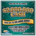 Michigan Lottery IG# 683 $2 Million Cash