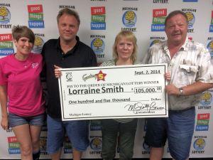 Lorraine Smith Fantasy 5 winner