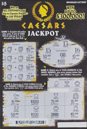 3.10.16 IG 759 Caesars Jackpot $300,000 Anonymous Arenac County