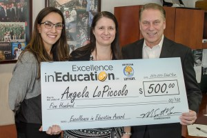 Excellence in Education Winner Angela LoPiccolo