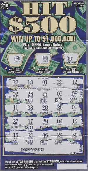 04.29.16 Hit Series IG765 $1,000,000 ($634,517 Lump Sum) Anonymous Oakland County