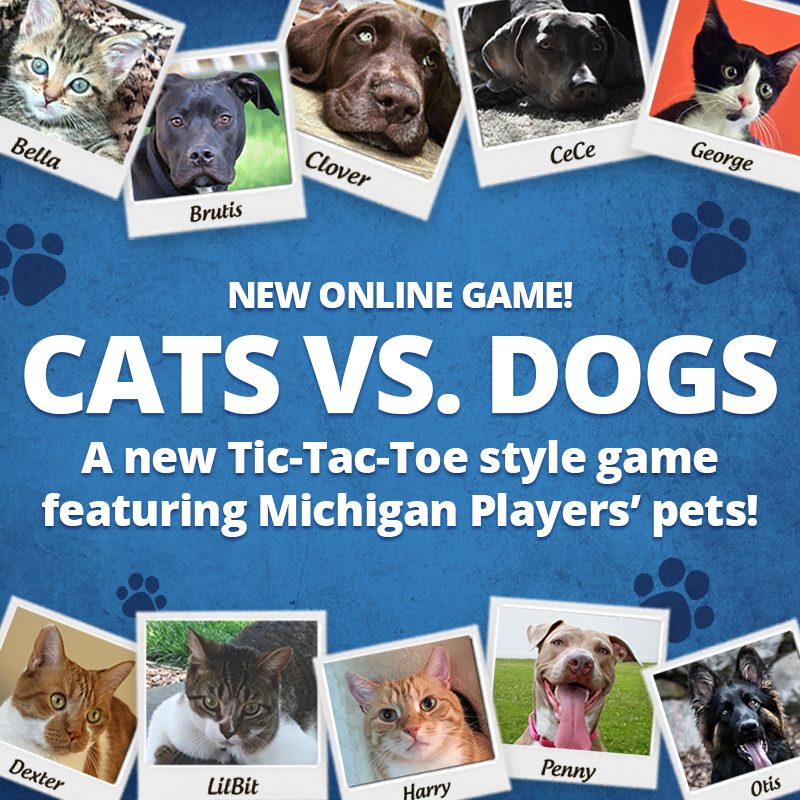 Cats Vs Dogs Online Instant Game Featuring Players Pets Unveiled