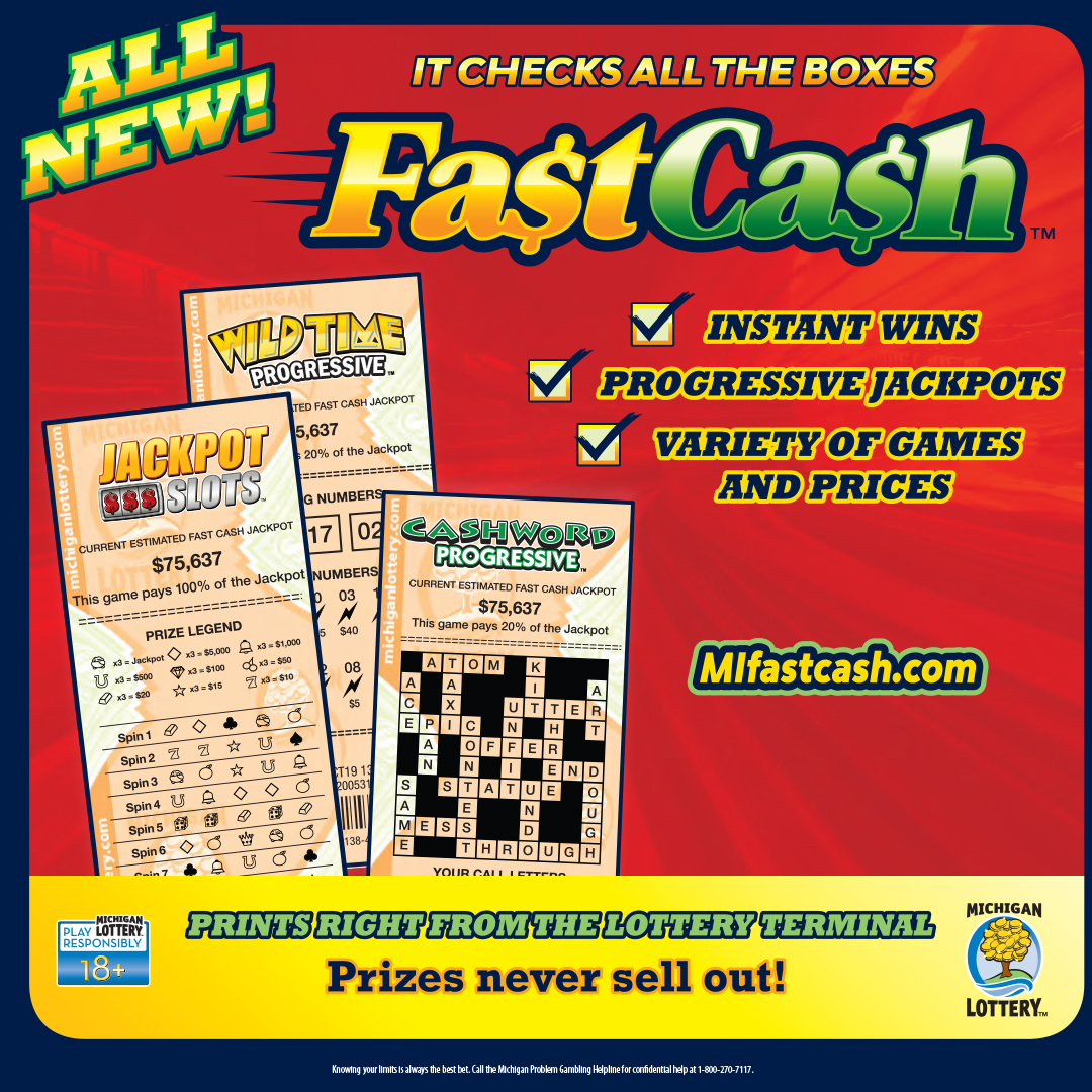 New Fast Cash Games Offer Players Instant Win and Progressive