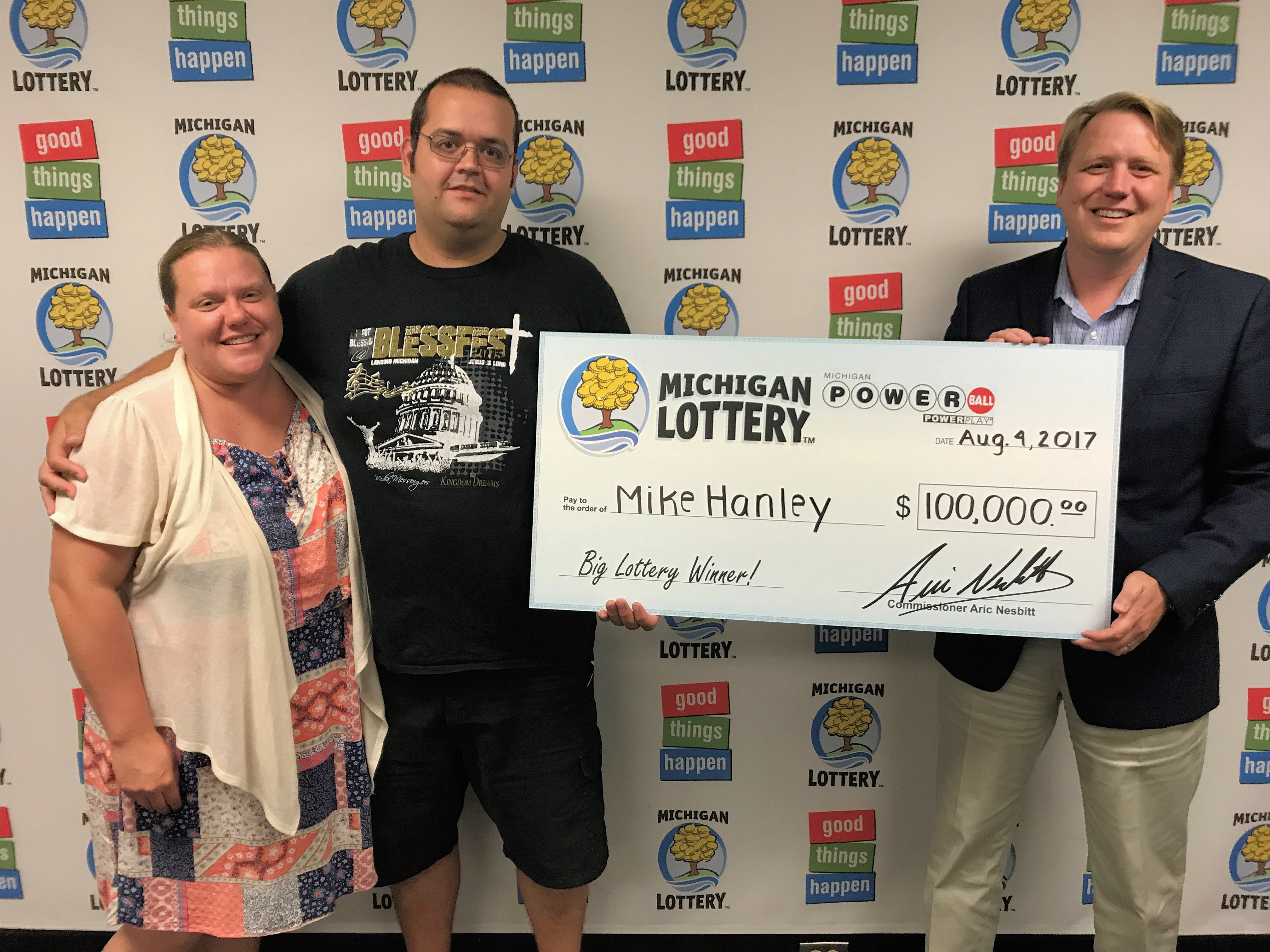 Shiawassee County Man Wins 100 000 Powerball Prize From The