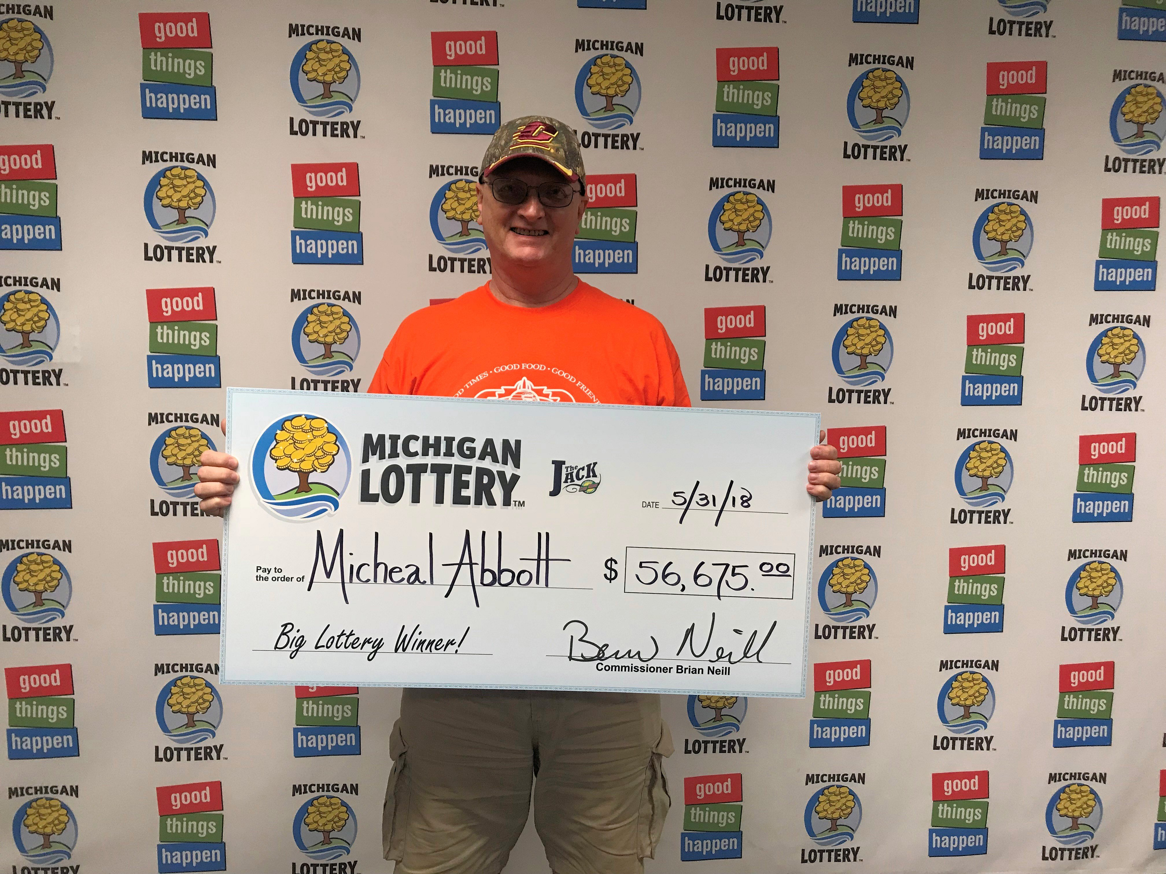 Michigan lottery players club prizes for games
