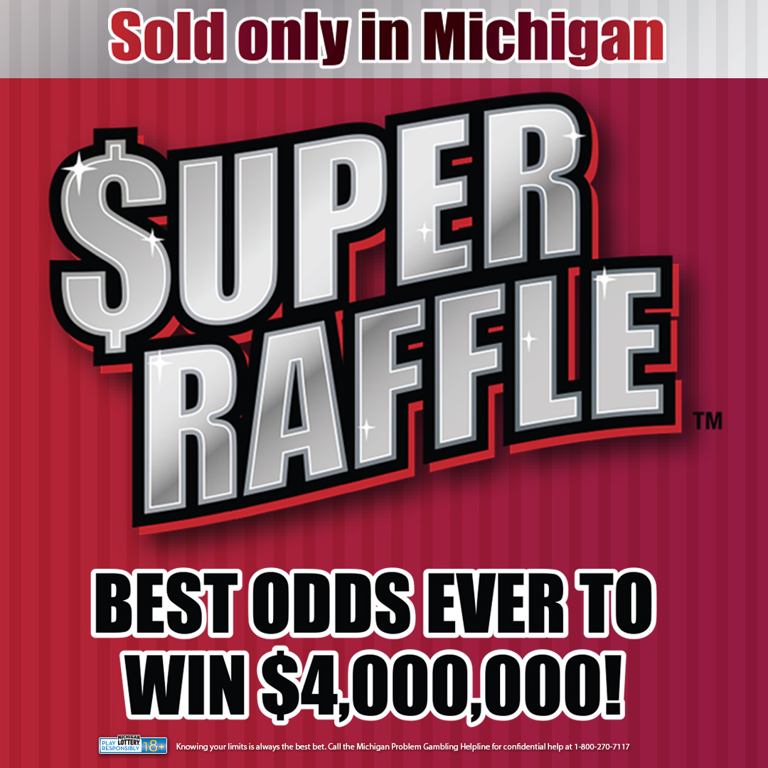 New Super Raffle Gives Michigan Lottery Players Chance to Win