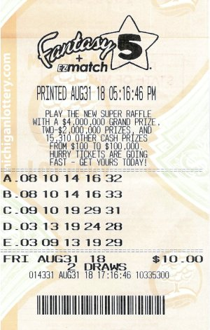 Bierman's winning ticket.