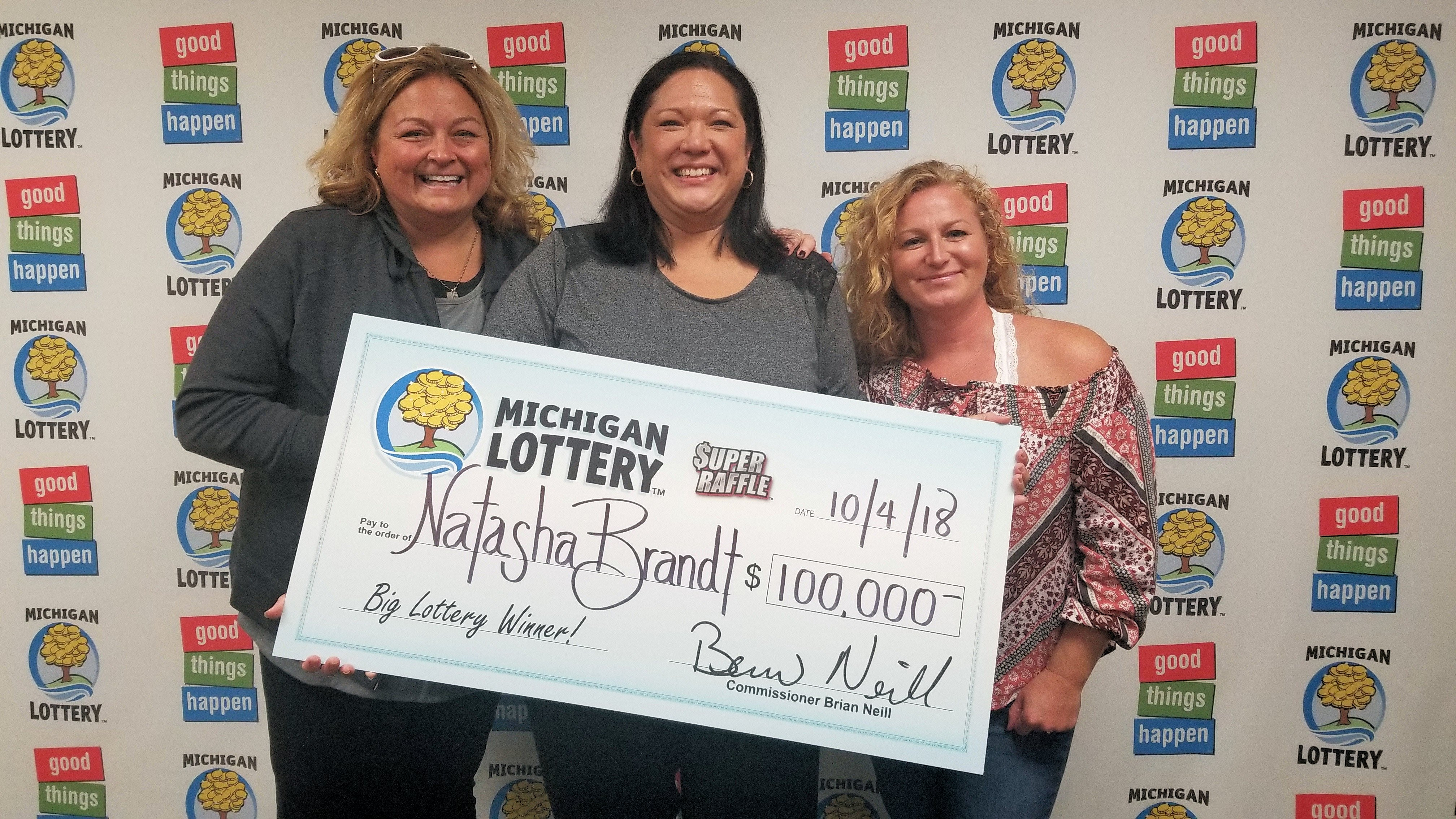 Bay City Woman Wins 100 000 Super Raffle Prize Michigan Lottery Connect 913 washington ave, бэй сити, mi 48708, usa. bay city woman wins 100 000 super