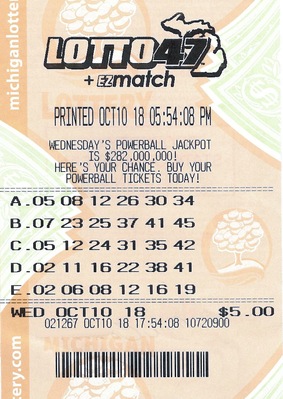 Lotto 10.11.18