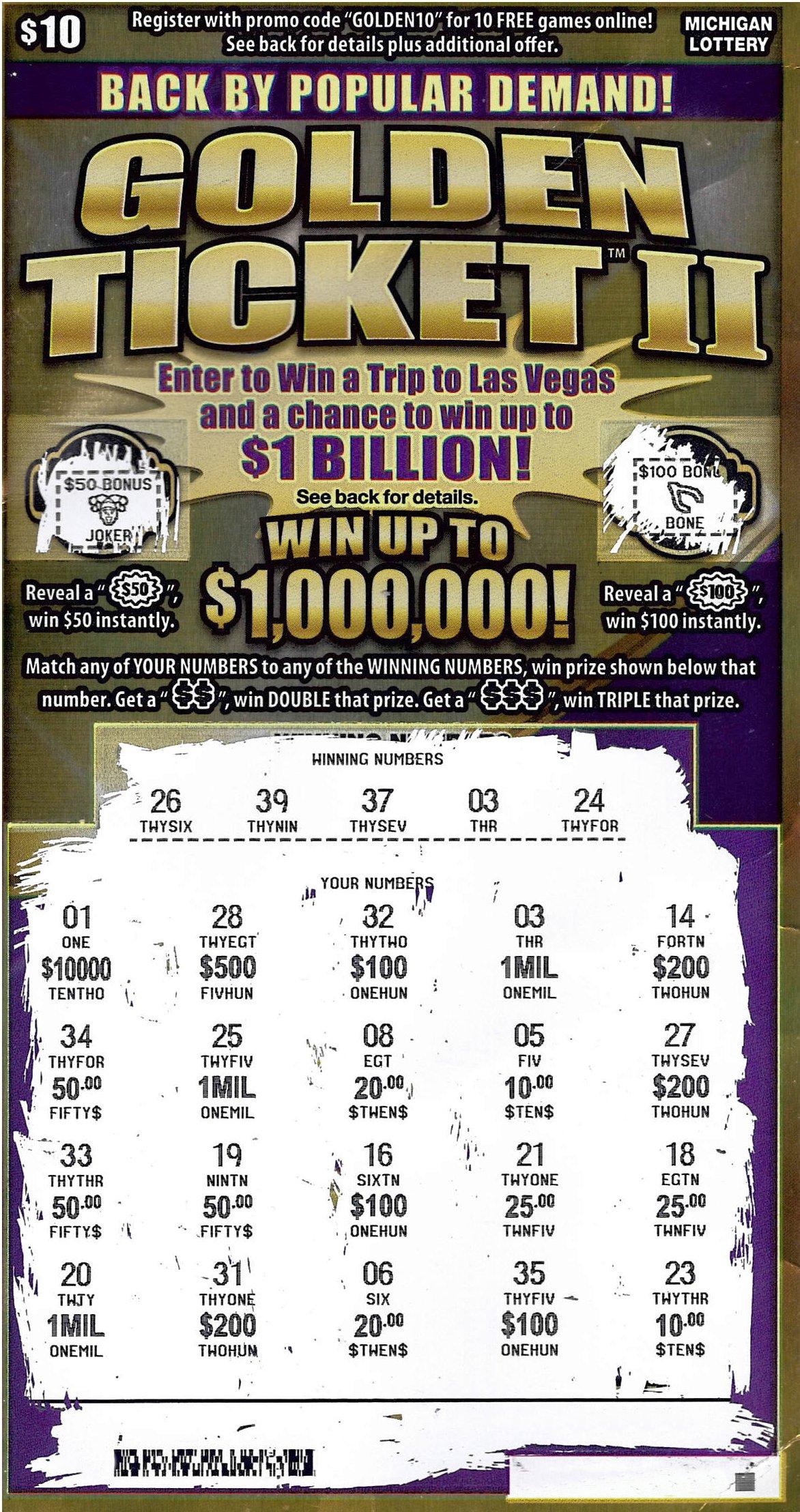 Lansing Man Wins $1 Million Playing the Michigan Lottery's