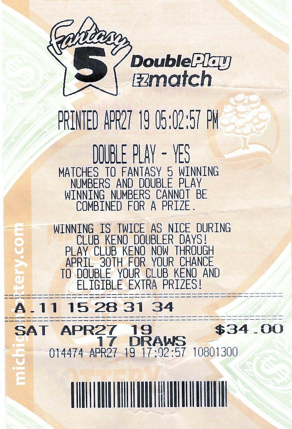 Oakland County Man Wins $100,000 Fantasy 5 Jackpot | Michigan