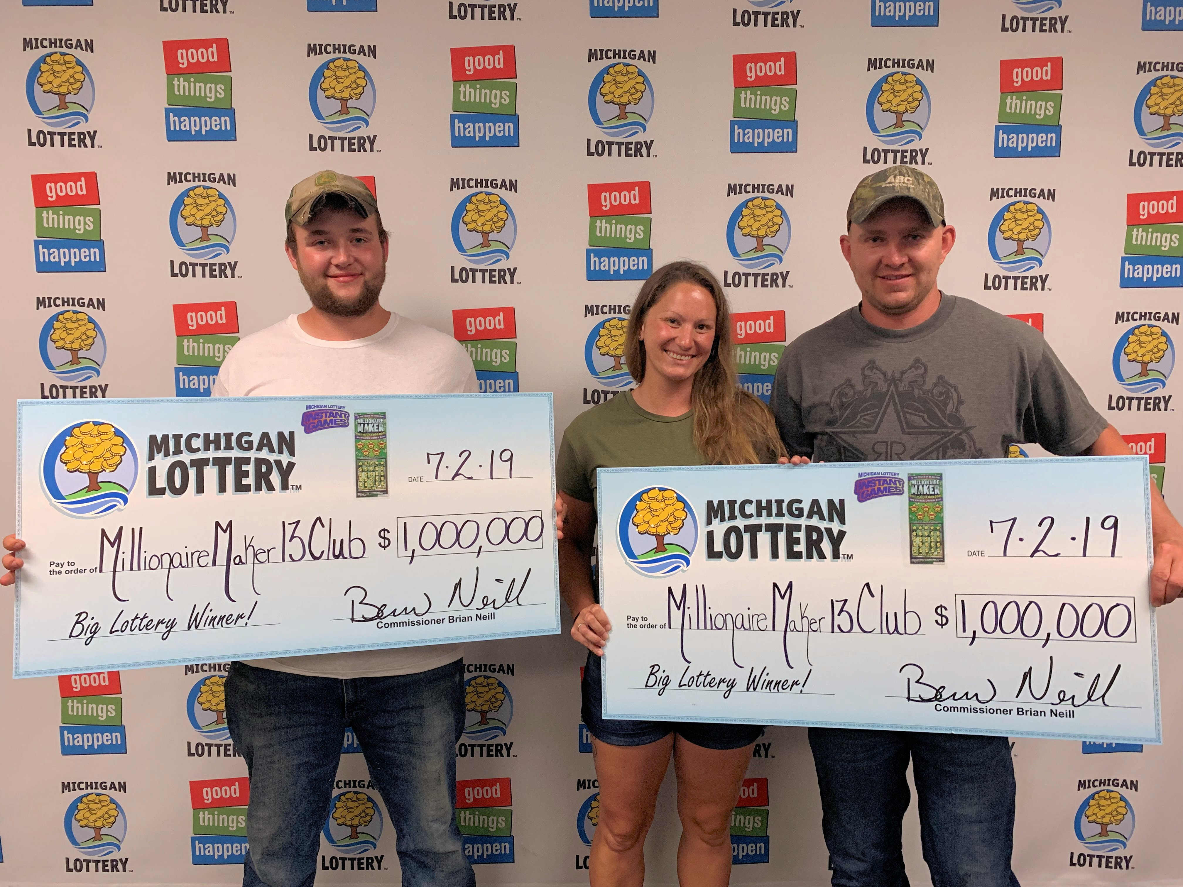Longtime Friends Win $1 Million Playing the Michigan