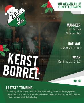 Laatste training 2019