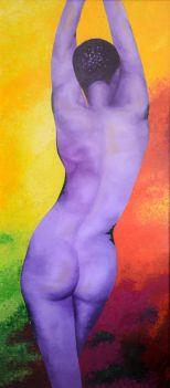 Desnudo en Malva