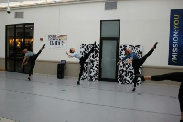 "Myself and other ATTD performers doing the number ""Ask"" at the Norfolk NEX."