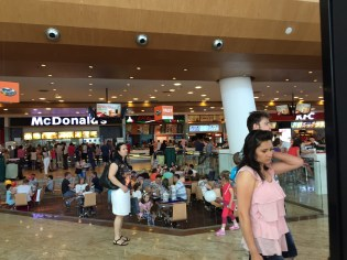 McDonald's in Romania - I'm lovin' it.
