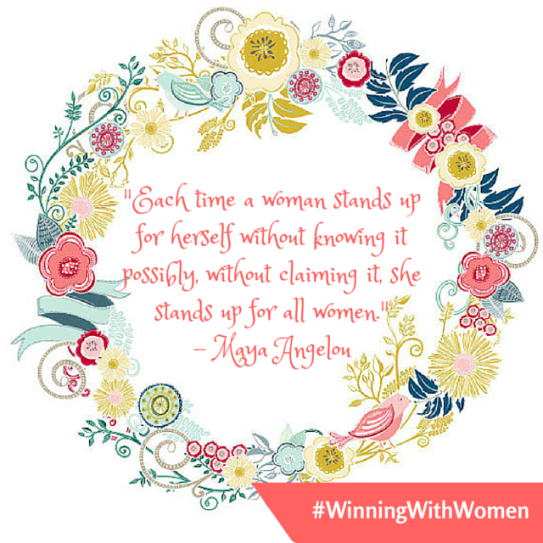 #WinningWithWomen