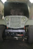 After spraying Tectyl on Jeep