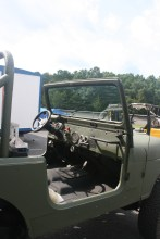 After spraying Tough Coat on Jeep