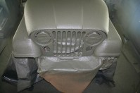 After spraying Tough Coat™ on Jeep
