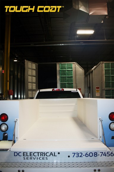 After MILSPRAY's Tough Coat™ is applied to Chevrolet Silverado