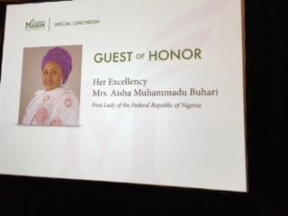 First Lady of The Federal Republic Of Nigeria Mrs Aisha Muhammadu Buhari (2)