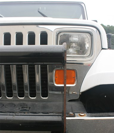 Before Tough Coat on Jeep
