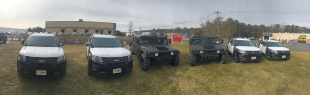 Ford® Explorer Ballistic Resistant HUMVEE Voorhees Police Department