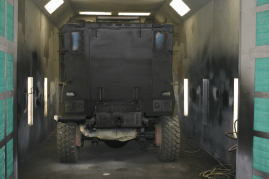 Mine Resistant Ambush Protected (MRAP) Vehicle - During | Garfield Police Department