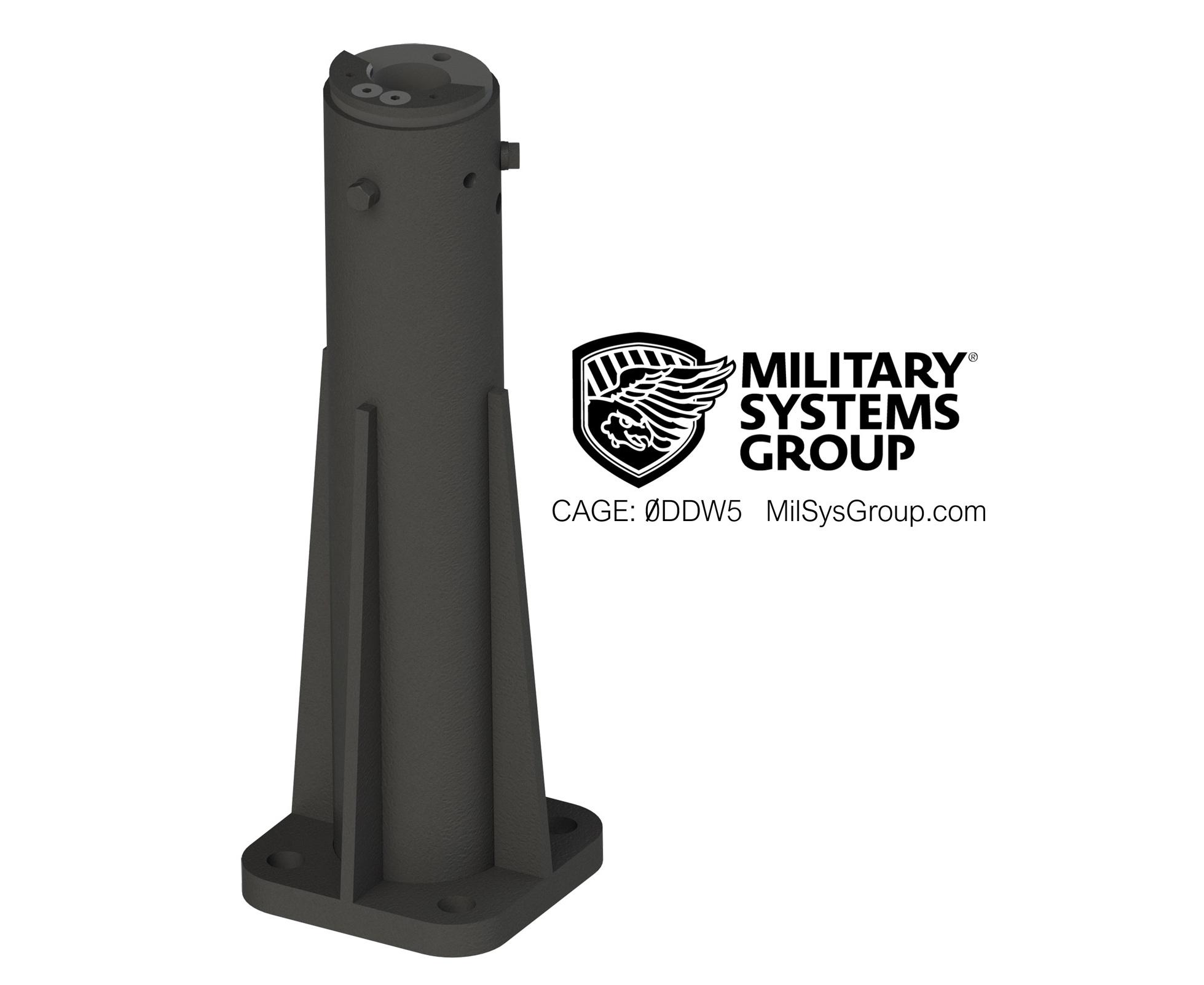 100b Boat Machine Gun Mount Pedestals Military Systems