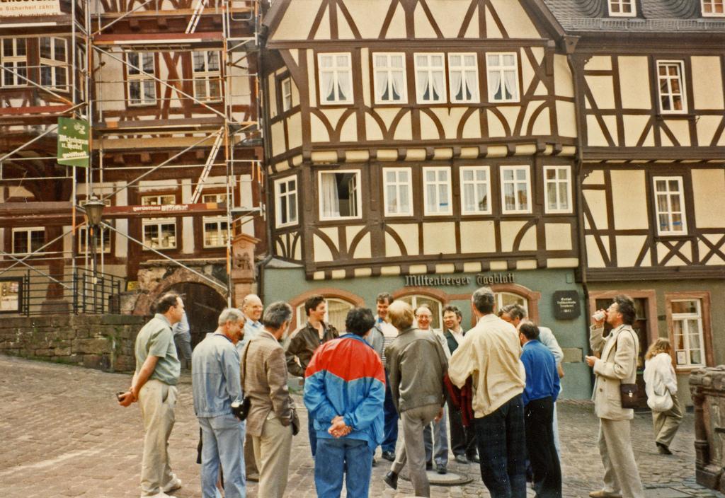 Der Marktplatz in Miltenberg, 1991