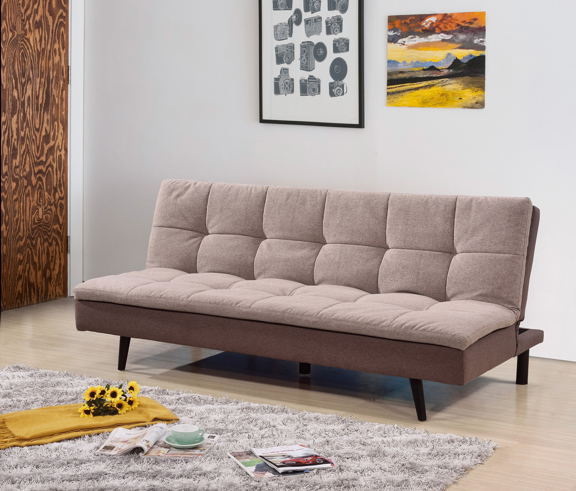 7568 light brown pillow top sofa bed 7568 lbr milton greens stars lowest price possible with best possible value