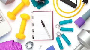 Planner and workout equipment