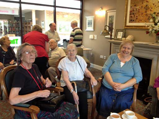 Coffee at Shenley Wood, 8 August