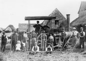 Agricultural scene Milton 1920s