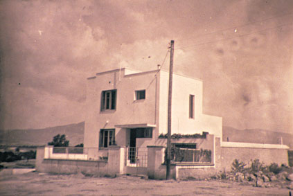 Το σπίτι του Μίλτου Κουντουρά στη Νέα Χαλκηδόνα - Αθήνα.