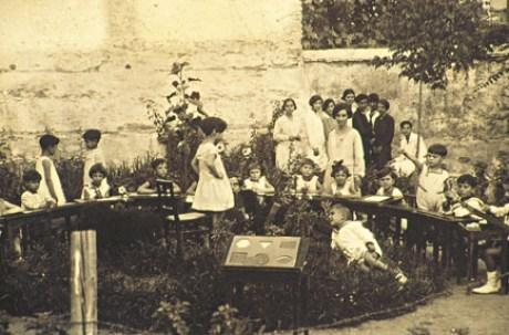 Τα παιδιά της Αλεξάνδρας Κεσσανλή, 1929.