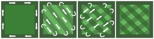 Diagonal-Pattern