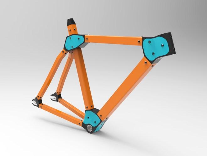 3D Printed Modular Bike Frame
