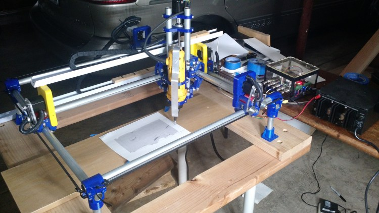 MPCNC and Machinekit. A open source 3d printed milling machine