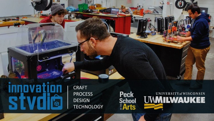 Digital Fabrication and Design research at UW-Milwaukee's Innovation Studio