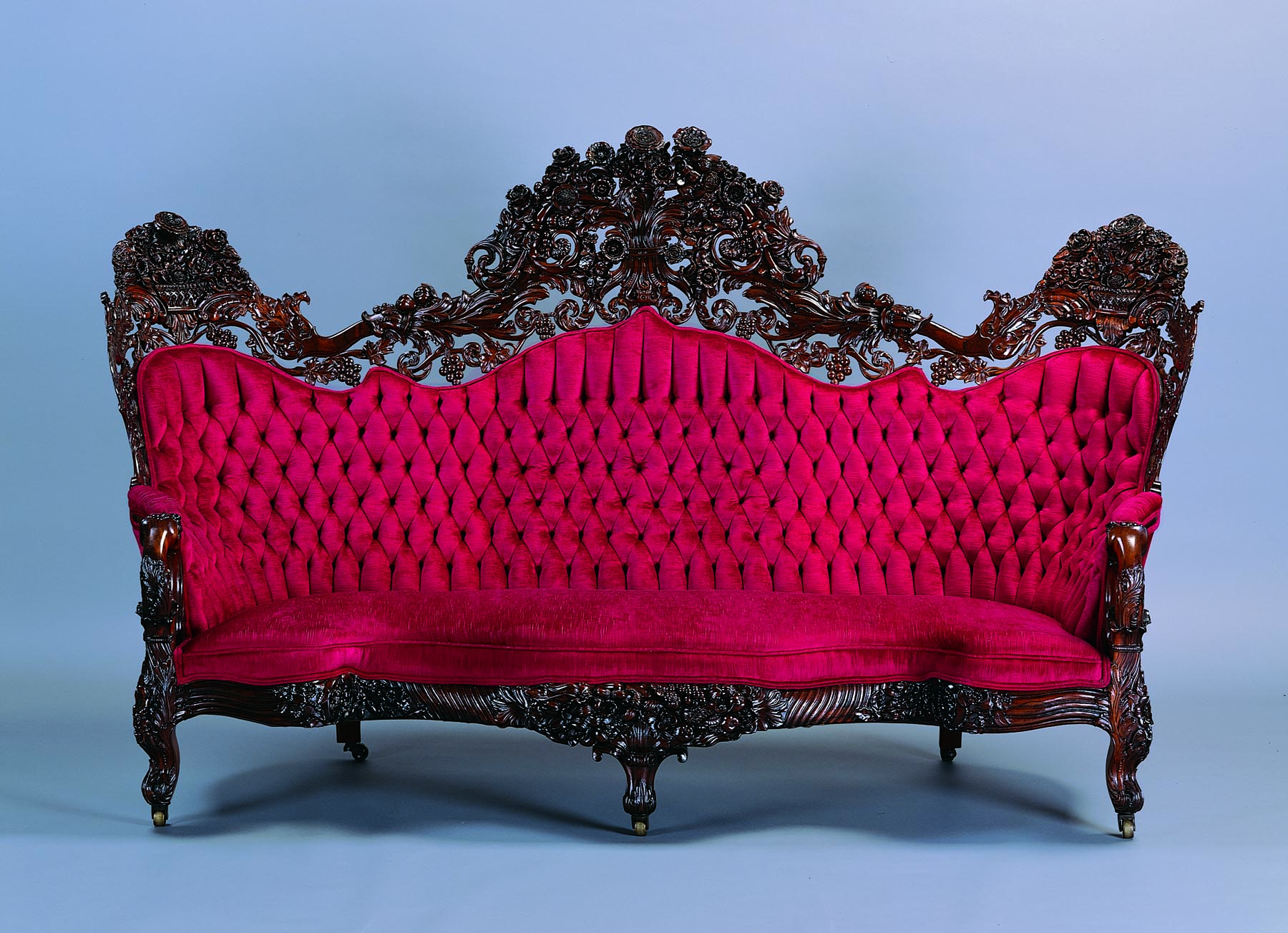 From The CollectionJohn Henry Belter Sofa Milwaukee Art