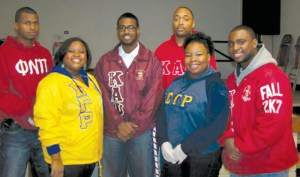The Healthy Holiday Soup Kitchen was hosted by members of the Delta Kappa Chapter of Kappa Alpha Psi Fraternity, Inc. and the Eta Zeta Chapter of Sigma Gamma Rho Sorority, Inc. in conjunction with All Saints Church Food Pantry.