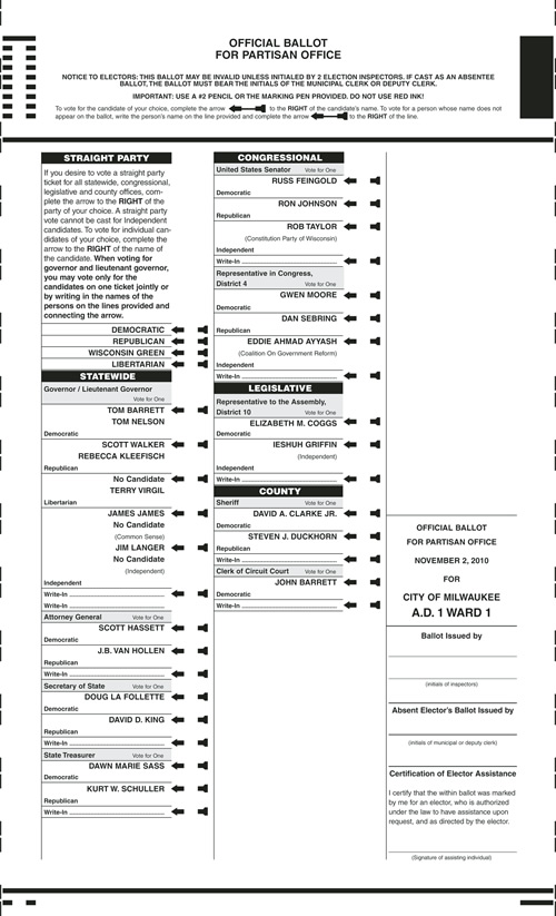 Fourth image of Notice Of Spring Election And Sample Ballots April 1 2014 with NOTICE OF GENERAL ELECTION AND SAMPLE BALLOTS | Milwaukee ...
