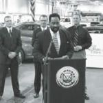 County Executive Holloway introduces 35 Ford Fusion Hybrid Vehicles for Milwaukee County