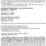 MPS Requesting BIDs for Exterior Window and Door Replacement at Fernwood Montessori School