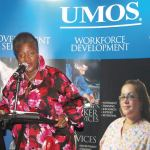 PHOTO OF THE WEEK: Thelma Sias speaks at the Meeting the Challenge Annual Corporate Luncheon for UMOS