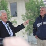 Photo Gallery: President Clinton visited Milwaukee on June 1st, 2012, to attend the rally for Tom Barrett and Mahlon Mitchell.