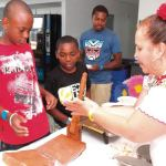 """Mexican Fiesta hosted a """"Make your own Tortilla"""" at Discovery World"""